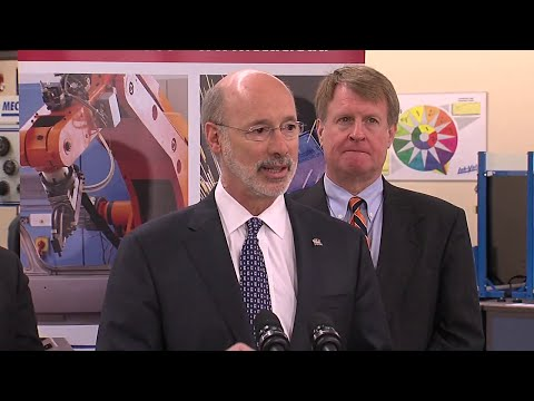 Governor Wolf Visits Community College of Allegheny County On His 'Schools That Teach' Tour