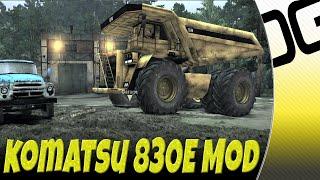 Spintires Mod Spotlight - Komatsu 830E Ultra Class Dump Truck
