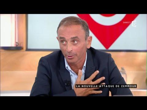 La nouvelle attaque de Zemmour - C à vous - 06/09/2016
