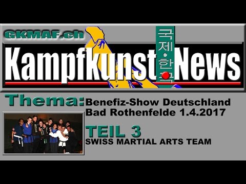Das Swiss Martial Arts Team kämpft für Kinder