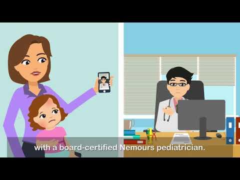 Online Live Visits With Nemours Pediatricians - Nemours CareConnect