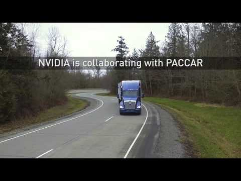 NVIDIA and PACCAR Developing Self-Driving Trucks