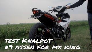 Video [44] Test Knalpot R9 Assen for Mx King 150 (Indonesia) download MP3, 3GP, MP4, WEBM, AVI, FLV Mei 2018