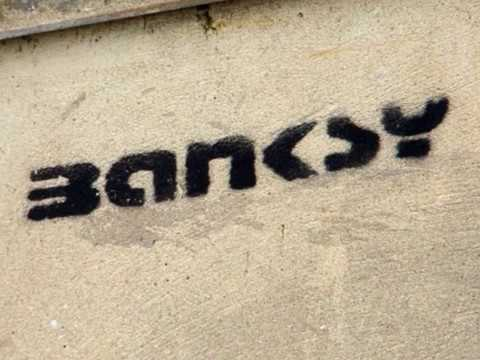 Is Banksy from Bristol music acts Massive Attack or Allflaws