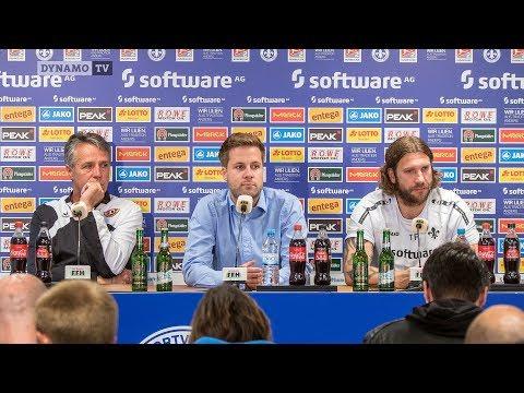 8. Spieltag | D98 - SGD | Pressekonferenz nach dem Spiel