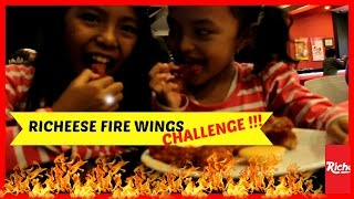 RICHEESE FIRE WINGS CHALLENGE INDONESIA ♥  KEIRA CHARMA