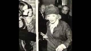 Marlene Dietrich, Wenn Die Welt War Jung.