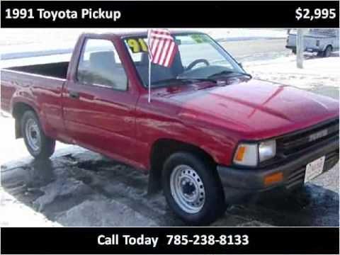 1991 toyota pickup available from j c auto sales youtube. Black Bedroom Furniture Sets. Home Design Ideas