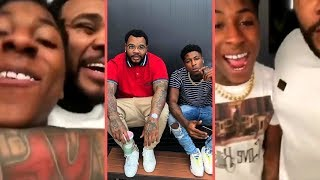 NBA YoungBoy and Kevin Gates Pull Up On Zaytoven and Kevin Gates Reacts To Being In Jail (2018)