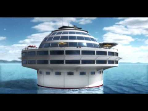 ANAKLIA Sea Hotel - floating underwater leisure center