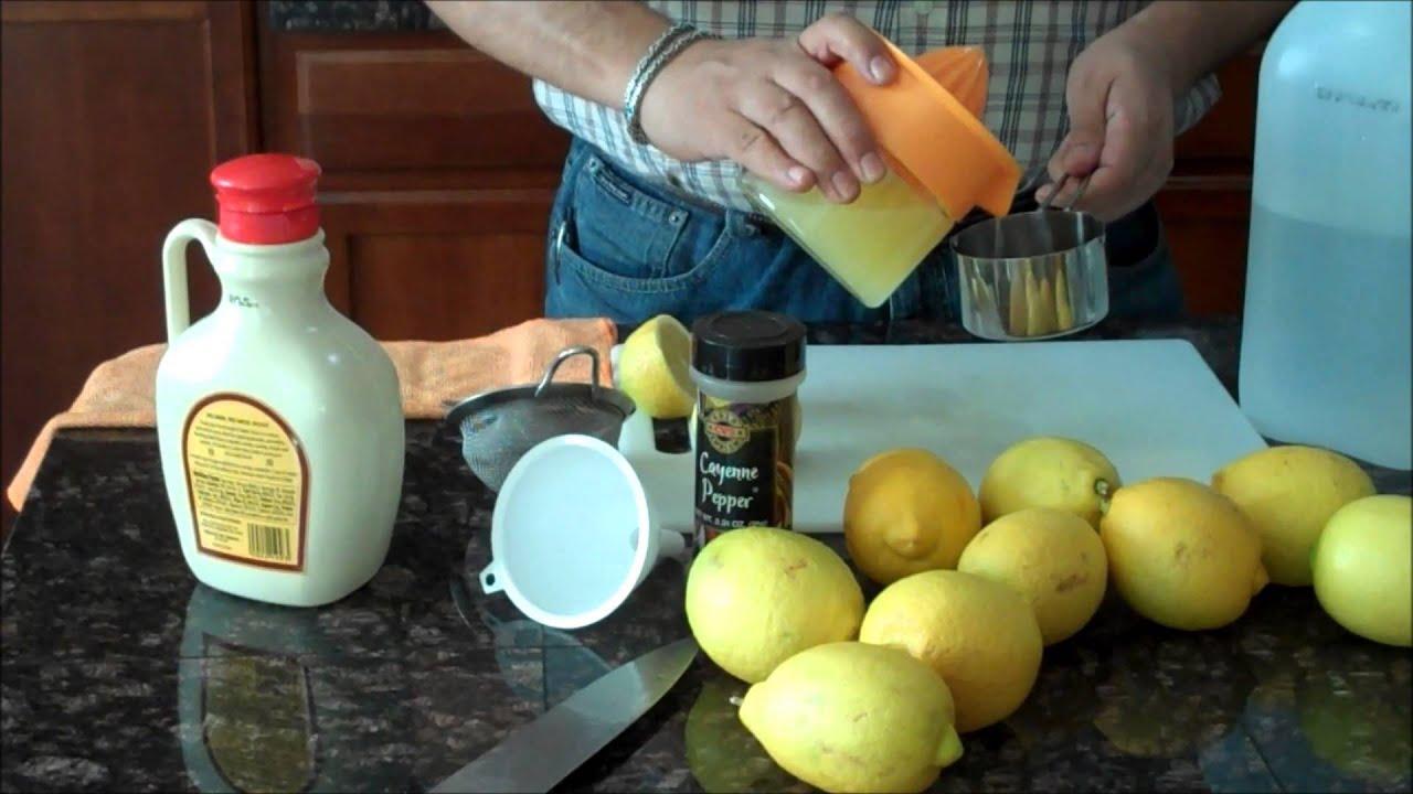 Dieta de la limonada caserate