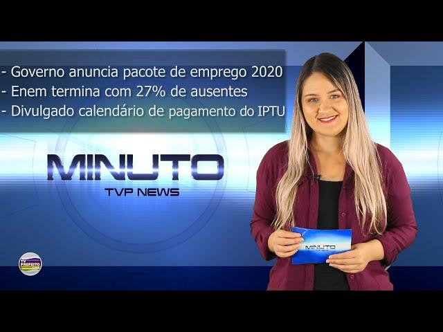 MINUTO TVP NEWS 11/11/2019