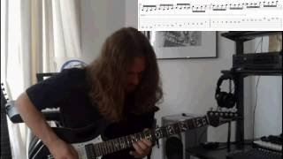 Guitar Solo Playthrough: OZZY OSBOURNE - Bark at the Moon WITH TAB!