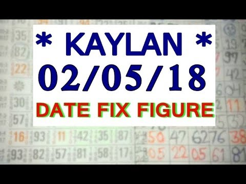 *02/05/18* KALYAN MATKA DATE FIX FIGURE SINGLE JODI TRICk