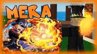 MERA MERA SHOWCASE   STEVE'S ONE PIECE ROBLOX
