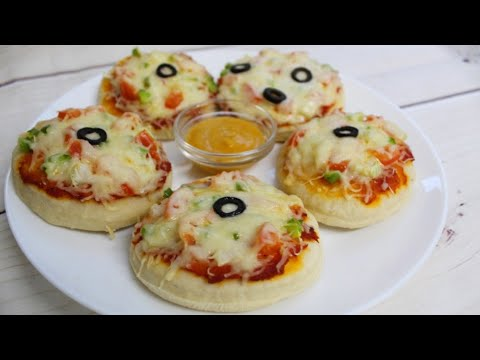 Mini Pizza bila ya oven | Mini Pizza without oven