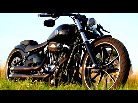harley davidson breakout custom fxsb softail umbau youtube. Black Bedroom Furniture Sets. Home Design Ideas
