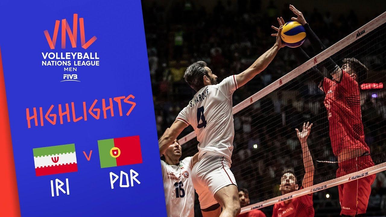 IRAN vs. PORTUGAL - Highlights Men | Week 4 | Volleyball Nations League 2019