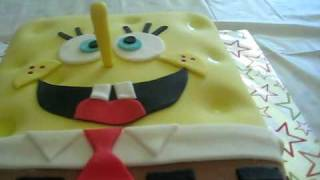Spongebob Squarepants Fondant Cake