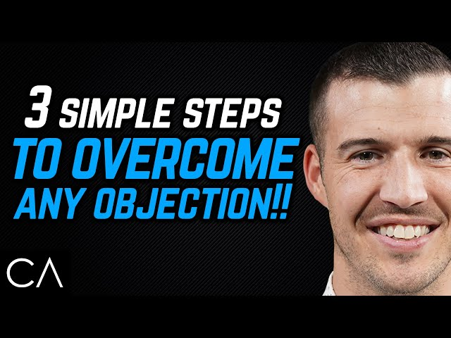 3 Simple Steps To Overcome ANY Objection! [Insurance Sales Training]