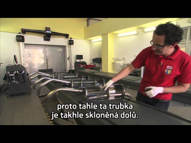 Autosalon Prima SKODA Servis udrzba a servis vyfukoveho systemu CZ titulky