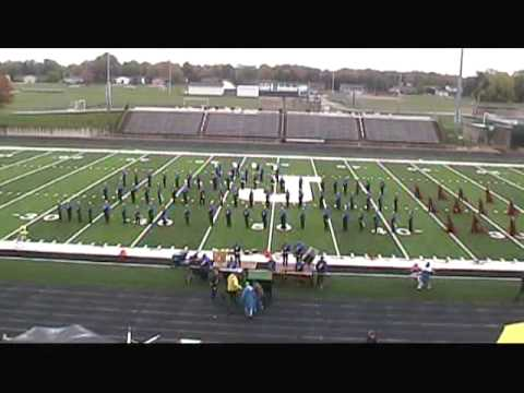 Plainwell High School Trojan Marching Band at the 2013 Jenison Invitational