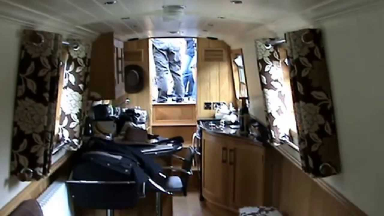 Narrowboat Esmee - Interiors - YouTube