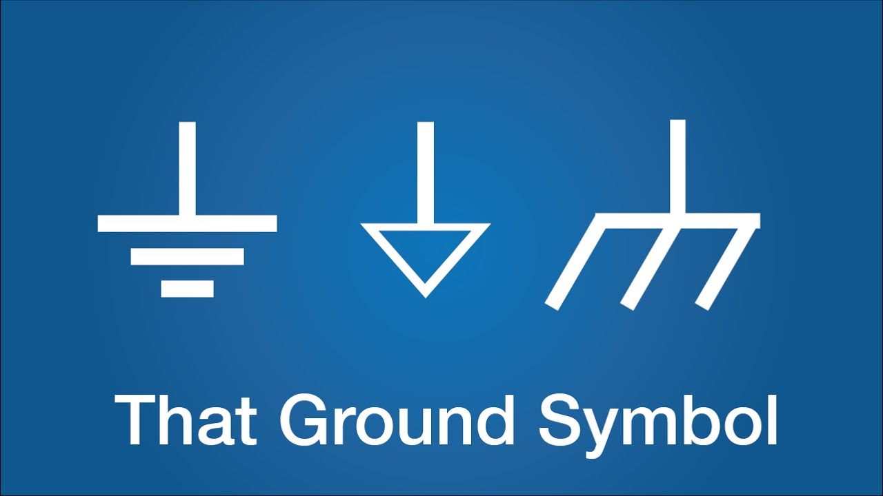 Wire Symbol Circuit That Ground Symbol What Is Ground Electronics Basics 24