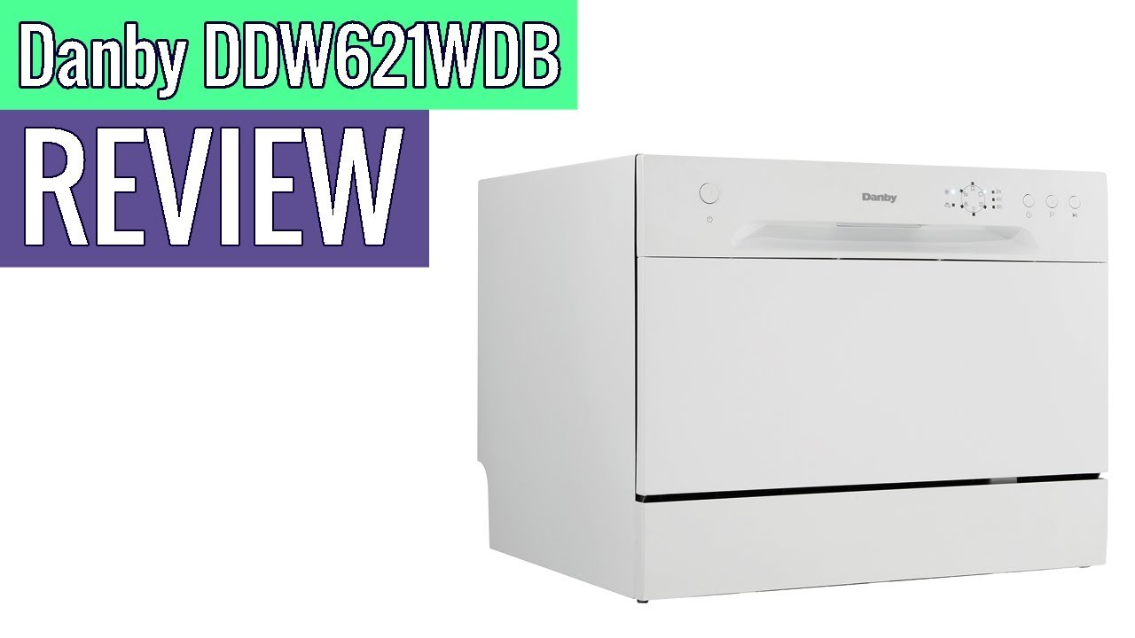 Danby Ddw621wdb Countertop Dishwasher Review Youtube
