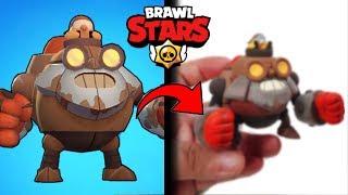 Making brawl stars robo Dynamike - clay Art - NEW SKINS