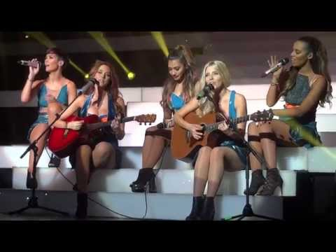 The Saturdays - Greatest Hits Tour - Chasing Lights (Acoustic) 14/09/14