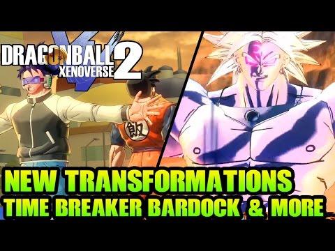Dragon Ball Xenoverse 2: Giant Namekians & Human Forms + Time Breaker Bardock Vs Trunks & More