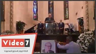 بالفيديو.. مراسم جنازة الروائى إدوار الخراط بكنيسة قصر الدوبارة