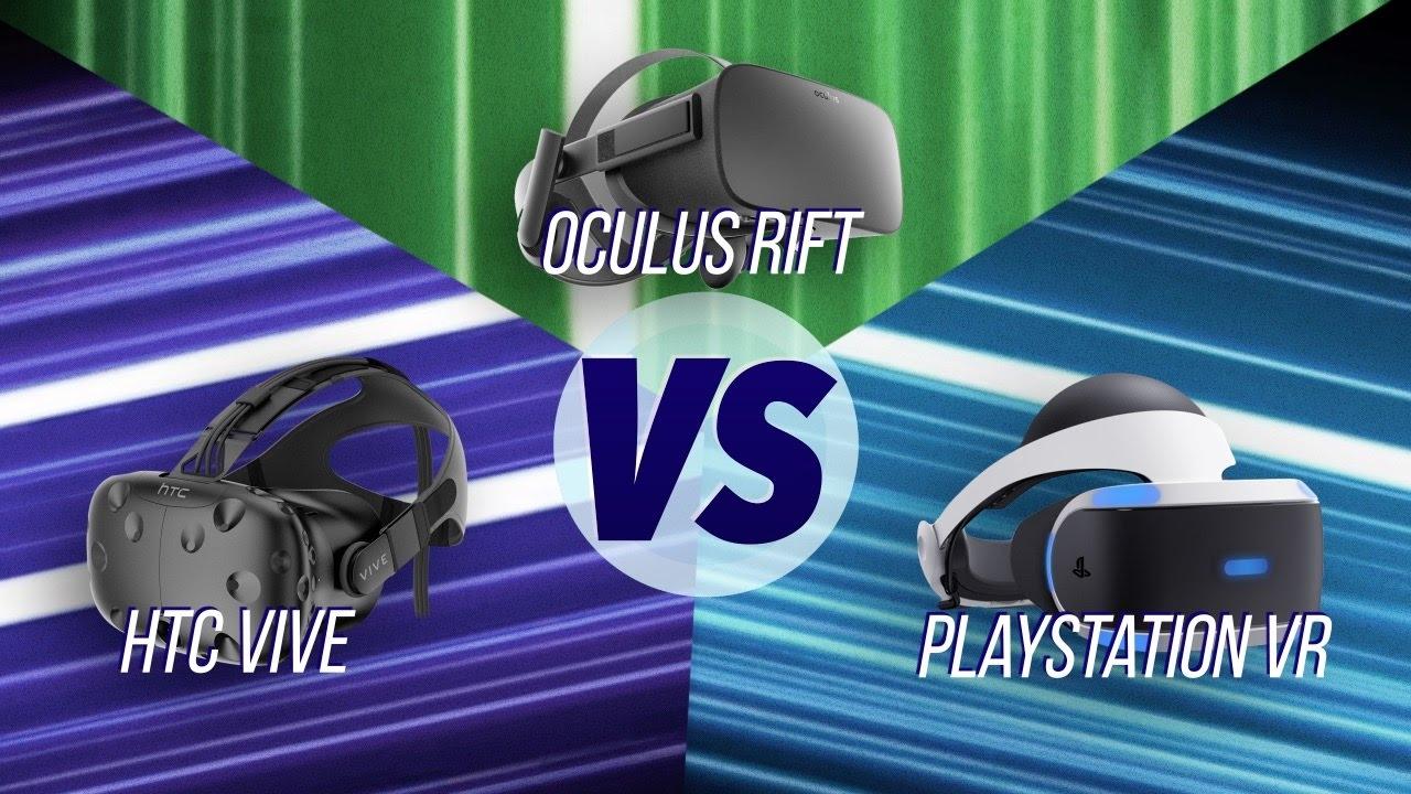 The Best VR Headset? HTC Vive vs Oculus Rift vs PS VR