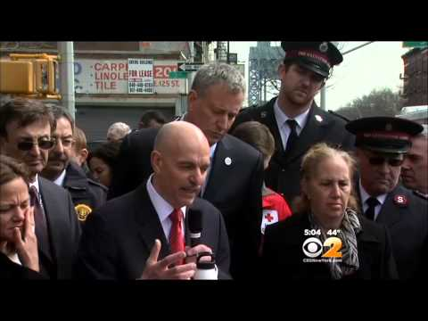 Firefighters Continue Search, Debris Removal At East Harlem Blast Site