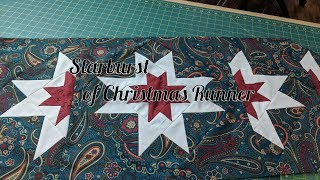I know it's not Christmas yet but this is a great Christmas project for you to quilt up. It is a lovely star pattern that can be done by anyone The pattern is called ...