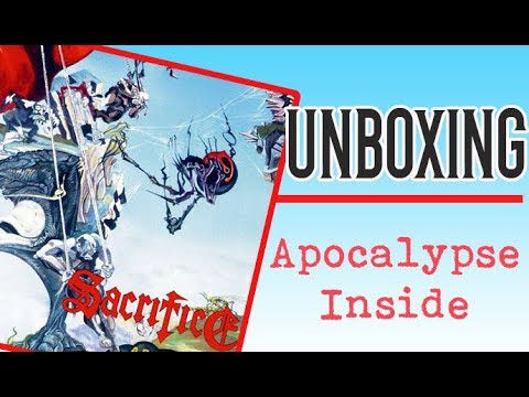 Unboxing Sacrifice - Apocalypse Inside + Discografia