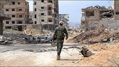 Letzte Rebellen verlassen Ost-Ghuta