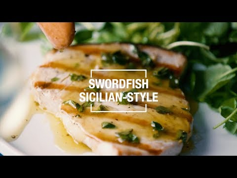 Swordfish Sicilian-Style | 40 Best-Ever Recipes | Food & Wine