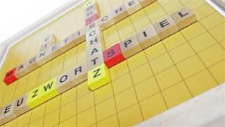 Produktvideo zu Extra großes Magnetspiel Brettspiel Kreuzwortspiel Family Line