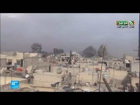 النظام السوري يكثف قصفه المدفعي وغاراته الجوية على الغوطة الشرقية  - نشر قبل 17 دقيقة