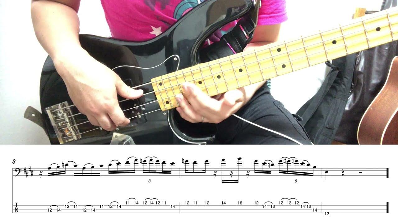 6연음을 써보자 [Bass Finger Solo Lesson] 다시시작 Solo #4