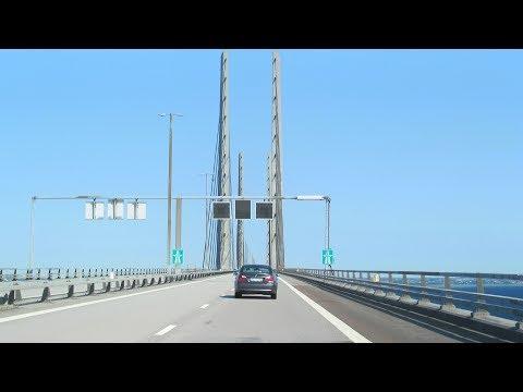 Øresund Bridge: Copenhagen to Malmö