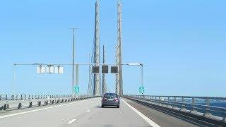 Øresund Bridge Copenhagen To Malmö