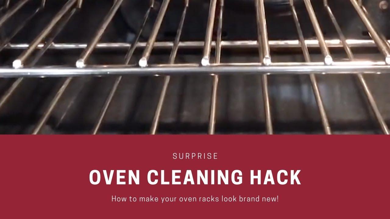 BEST WAY TO GET YOUR OVEN RACKS CLEAN