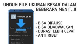 Cara Mendownload File Ukuran Besar Dengan Cepat Di Android screenshot 3