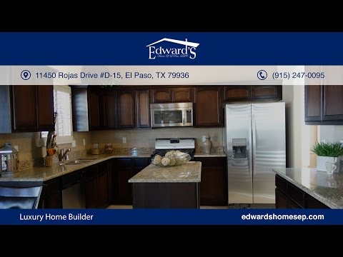 Luxury Home Builder - Edward's Homes - El Paso, TX