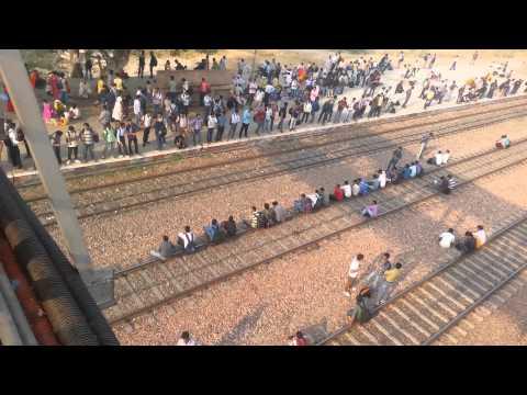 A view at Dausa Railway Station, Rajasthan