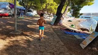 Chorwacja Starigrad Paklenica bluesun Camp 08.2017