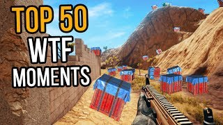 TOP 50 WTF MOMENTS  N PUBG Part 1